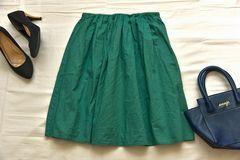 アースミュージック&エコロジー きれい色ふんわりコットンスカート♪