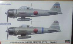 1/72 ハセガワ 日本海軍 零式艦上戦闘機11型コンボ(2機セット)