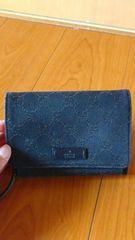 本物グッチ二つ折財布★ダークブラウン