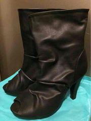 ブーツサンダル◆Sサイズ◆ブラック◆黒