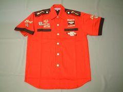★激安★NASCAR★Budweiser★ピットシャツ★赤★L★新品★SALE★