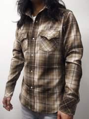 ブリューテンブラット ウールシャツ ブラウン M