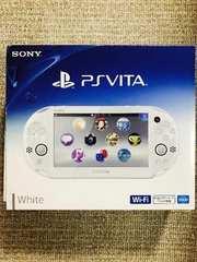 PlayStationVita Wi-Fiモデル ホワイト PCH-2000