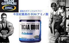 強力 ギャスパリ BCAA 6000 サプリメント 180錠 回復とダイエットのダブル効果