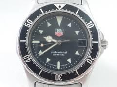 6022/TAGHEUERタグホイヤー定価12万円位プロフェッショナルダイバーメンズ腕時計