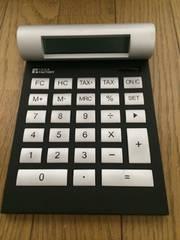 IDEA 電卓 ブラック おしゃれ インテリア小物 FDC002