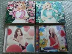 西野カナ【Love Collection mint/pink/with/Just】CD+DVD初回4枚