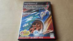 人気シリーズ。PS2☆ニードフォースピードアンダーグラウンドJ☆状態良い♪レース。