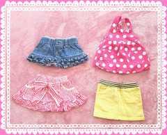 女の子スカート80�pまとめ売り4点