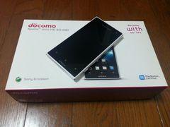即落/即発!!新品同様 SO-03D Xperia acro HD ホワイト