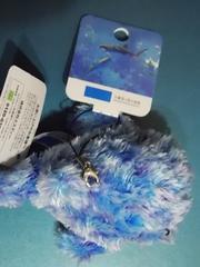 未使用☆沖縄美ら海水族館ペタンコジンベイザメ♪携帯クリーナー付マスコット