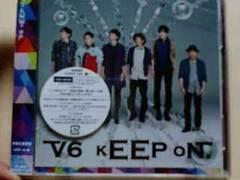 V6 kEEP oN. CD+DVDジャケットAタイプ kEEP oN.盤