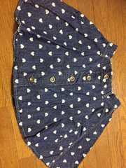 デニムフレアスカート 150センチ