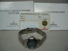 オメガ 美品  シーマスター120  ジャック・マイヨール時計