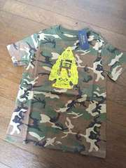 海外☆RALPH LAURENカモフラージュTシャツ・新品