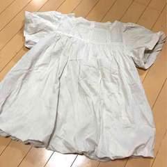 新品◆マオメイド◆裾&袖バルーン◆ふんわりコットンブラウス