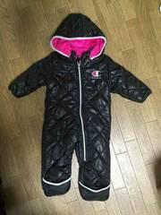 チャンピオン モコモコ ジャンプスーツ 80センチ