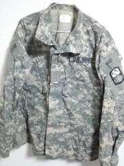 米軍 ACU迷彩服 M-R ワッペン2個付き