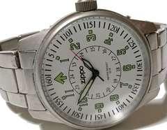 良品 ZIPPO ジッポ公式 フルメタル 大型メンズ腕時計