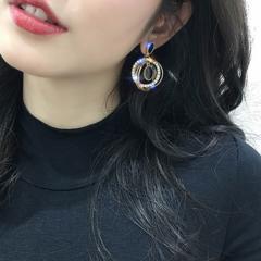 衝撃価格490円★超人気ゴージャスなサークルピアス