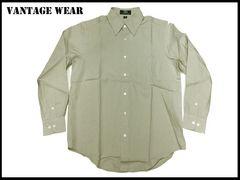 新 【ベイジ色-XL】Vantage長袖シャツアメリカ輸入品
