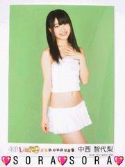 【HKT48・中西智代梨】PSP初回限定1/149恋愛総選挙特典生写真
