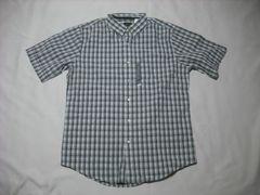 24 男 TIMBERLAND ティンバーランド 半袖チェックシャツ Mサイズ