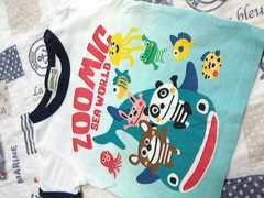 ZOOMIC夏仕様半袖Tシャツサイズ90�p水族館美品