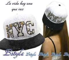 NEW最新セレカジNYCロゴ総レース大粒ビジュー上品jewelキャップ帽子9955