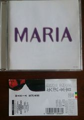 (CD)矢沢永吉☆MARIA★帯付き♪アルバム♪即決アリ♪