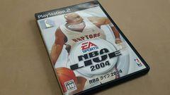 PS2☆NBA LIVE2004☆