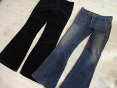 2点セット/ediconscious jeans&コーデュロイ  ブーツカット