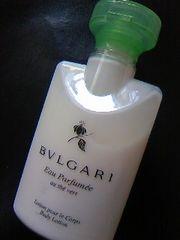 BVLGARIボディローションEau Parfumee