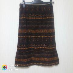小さいサイズ SUNCA 7号 秋〜初冬 スカート