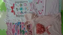 120女の子夏Tシャツ4枚まとめ売り