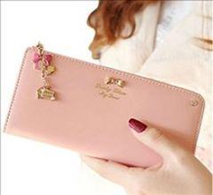★大人気★ 可愛い 長財布 レディース ピンク 他カラー有