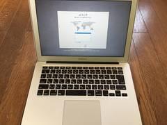 MacbookAir 13inch i5-1.3GHz  4Gメモリ  128GB +Windows7
