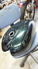 ホーク バブ やかん ヤカン CB250T 400T グリーンパール