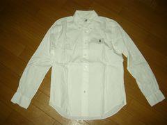WACKO MARIAワコマリアBDシャツS白マリア胸ロゴ長袖