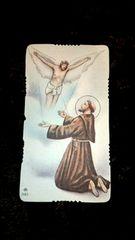 アンティーク  ホーリーカード  イエスキリスト  宗教