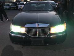 タウンカー98モデル リンカーン ハイドロ ブラック美車7万キロ
