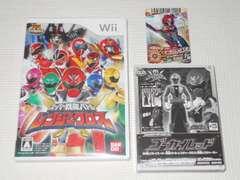 Wii★スーパー戦隊バトル レンジャークロス カード付 予約特典付