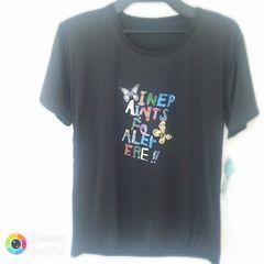 新品 半袖 Tシャツ M-L ブラック 蝶