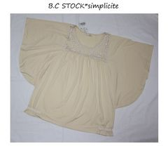 B.C STOCK*simplicite★4レース*ドルマンカットソー/新品