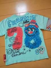 新品フランキーズカラフルレイヤードロングTシャツ110ラブレボリューション ラブレボ