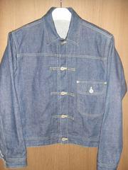 リーカウボーイデニムジャケット1944年モデルleedenimjacket38GジャンM