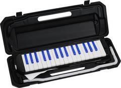 鍵盤ハーモニカ ブラック/ブルー 32鍵