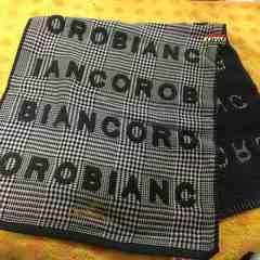 オロビアンコフェイスタオルロゴ刺繍ループつき