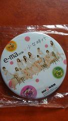 少女時代 e-ma のど飴 味覚糖 缶バッチ