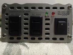 セルスター工業の変圧器HG_350/12V➡️100V